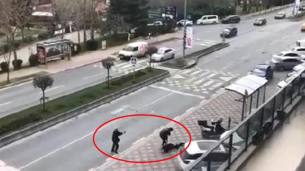 Başakşehir'de 2 kişinin öldüğü çatışma anları kameraya yansıdı