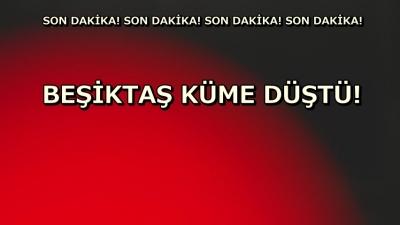 Beşiktaş Erkek Voleybol takımı küme düştü!