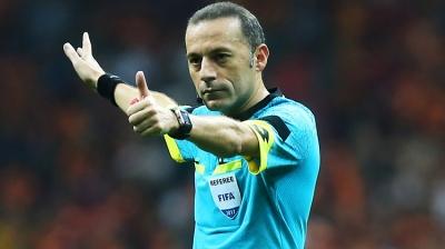 Beşiktaş - Galatasaray Derbisinde Görev Cüneyt Çakır'ın