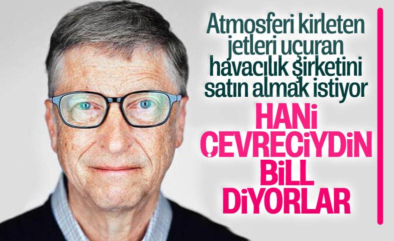 Bill Gates havacılık şirketi satın almak istiyor