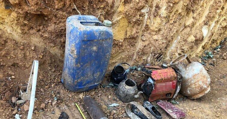 Bingöl'de PKK operasyonu! Teröristlere ait malzemeler ele geçirildi
