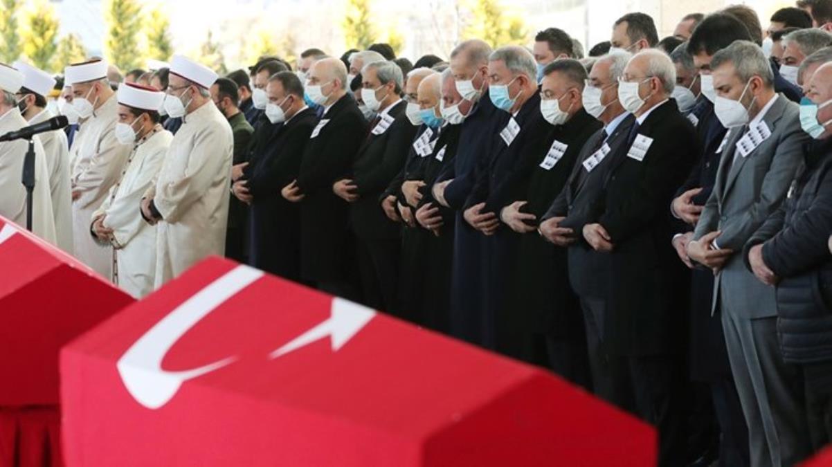Bitlis'te şehit olan 11 askerimiz için Ankara'da devlet töreni düzenlendi