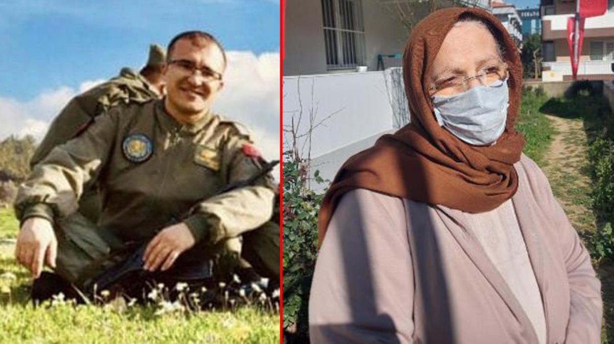 Bitlis'te şehit olan Uzman Çavuş Demirci'nin vasiyeti yürek yaktı: Şehit olursam beni babamın yanına gömün