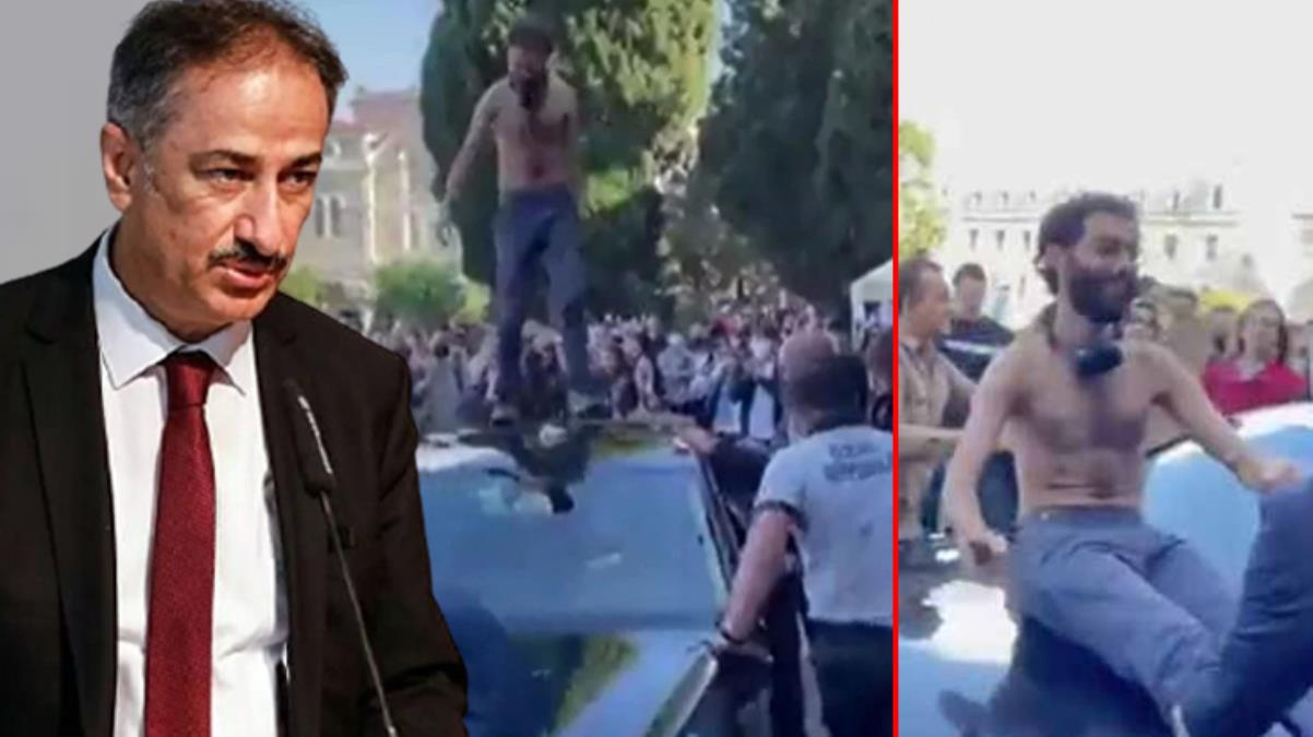 Boğaziçi Üniversitesi Rektörü Prof. Dr. İnci'den protesto açıklaması: Bunlar bir projenin parçası