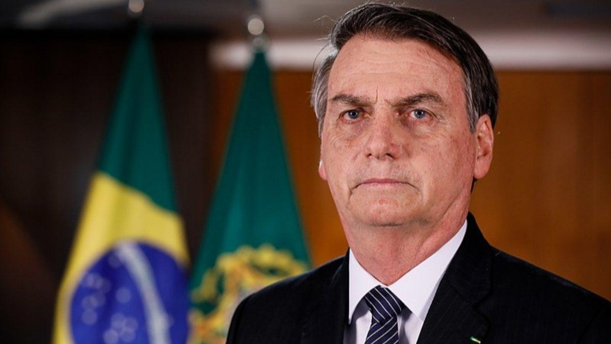 Brezilya Devlet Başkanı Bolsonaro aşıya da karşı çıktı