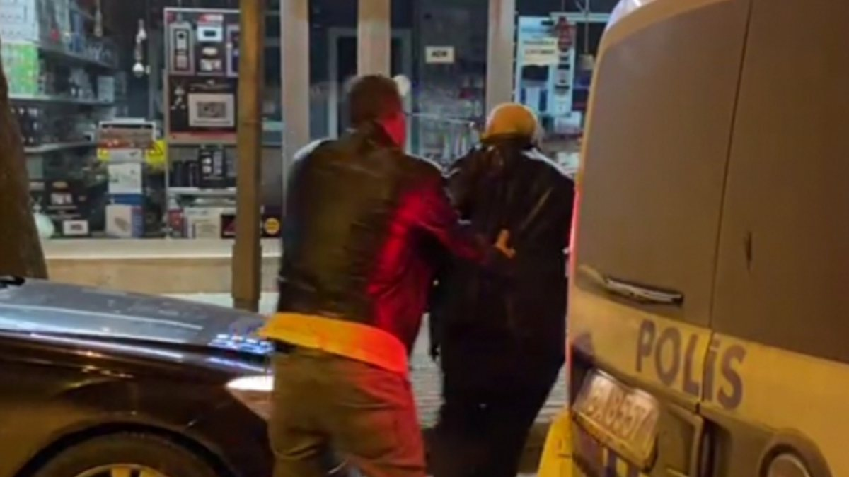 Bursa'da polisten kaçan şahıslara 8 bin 100 TL ceza