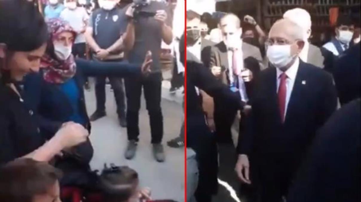 Çorum ziyaretinde Kılıçdaroğlu'na tepki gösteren kadın konuştu: Demirtaş ile el sıkıştığı an gözümün önüne geldi