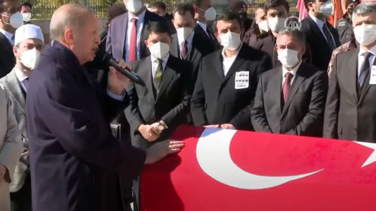Cumhurbaşkanı Erdoğan, 11 şehidimizin cenaze töreninde konuştu: Rabbim şehitlik makamını bizlere de nasip etsin