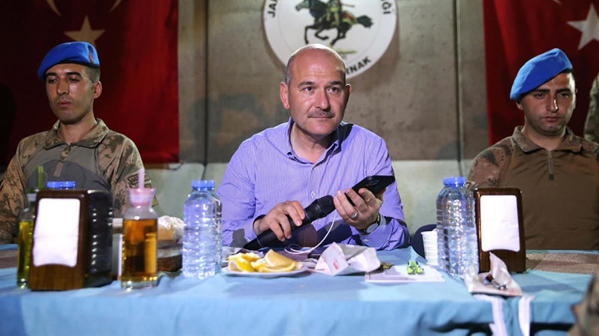 Cumhurbaşkanı Erdoğan, Bakan Soylu aracılığıyla Cudi Dağı'ndaki askerin bayramını kutladı