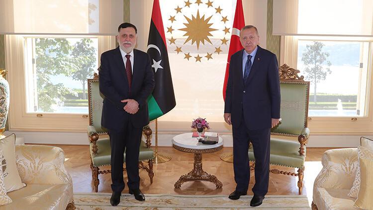 Cumhurbaşkanı Erdoğan'dan kritik Libya görüşmesi