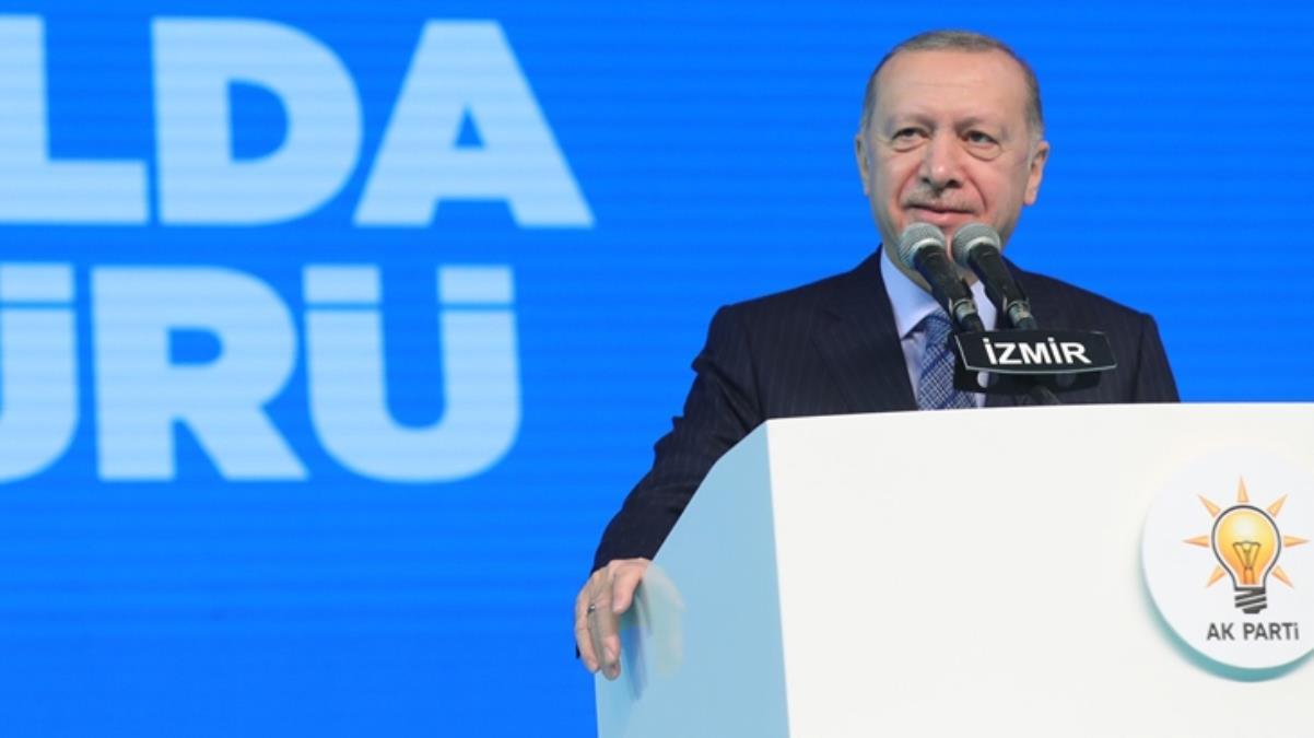 Cumhurbaşkanı Erdoğan'dan partisinin İzmir Gençlik Kolları Başkanına övgü dolu sözler: Benden geri değil