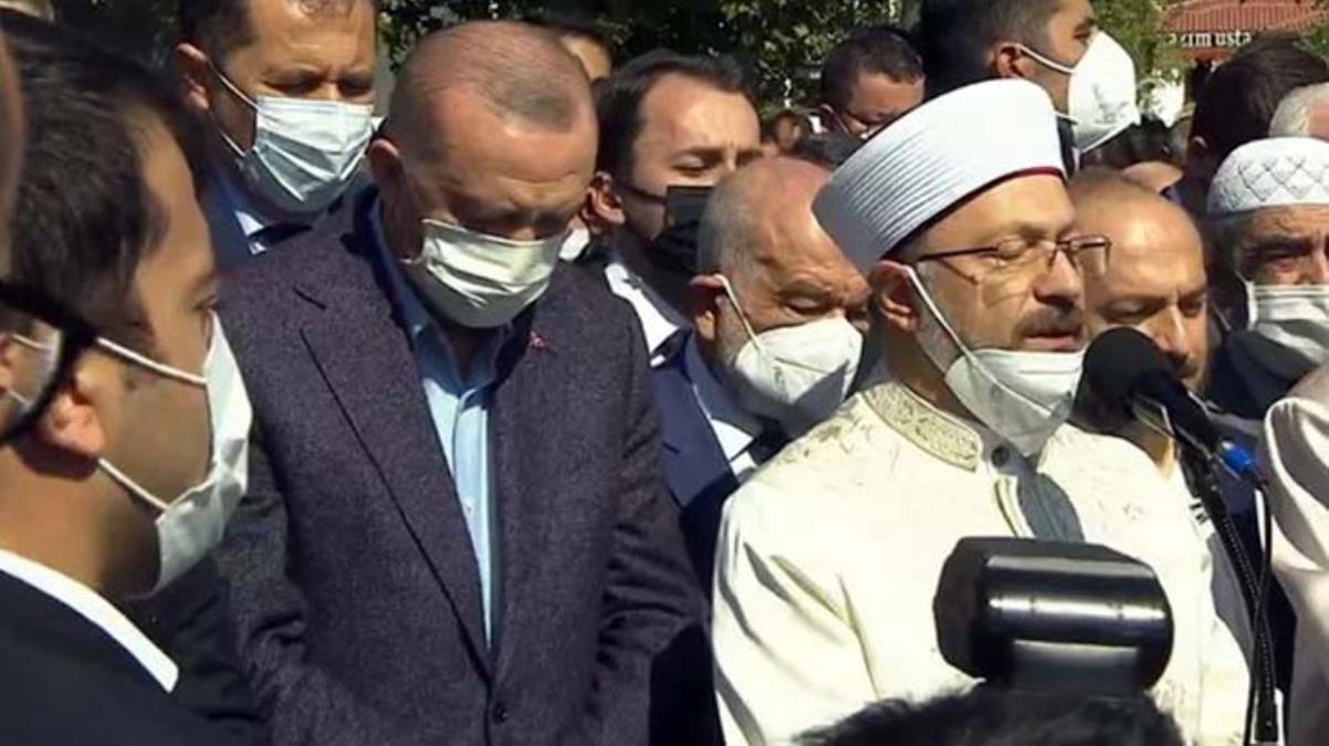 Cumhurbaşkanı Erdoğan'dan son yolculuğuna uğurlanan Oğuzhan Asiltürk'e duygusal veda