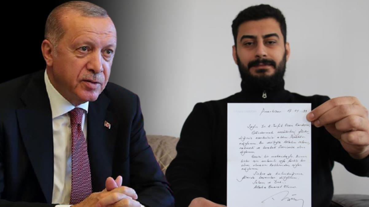 Cumhurbaşkanı Erdoğan'ın şair Ahmet Tevfik Ozan'a cezaevinden gönderdiği mektup 22 yıl sonra ortaya çıktı