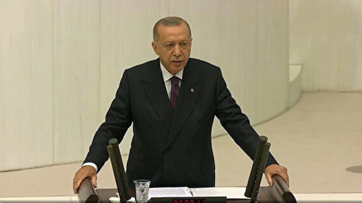 Cumhurbaşkanı Erdoğan, yeni yasama yılı açılışında TBMM'de milletvekillerine sesleniyor