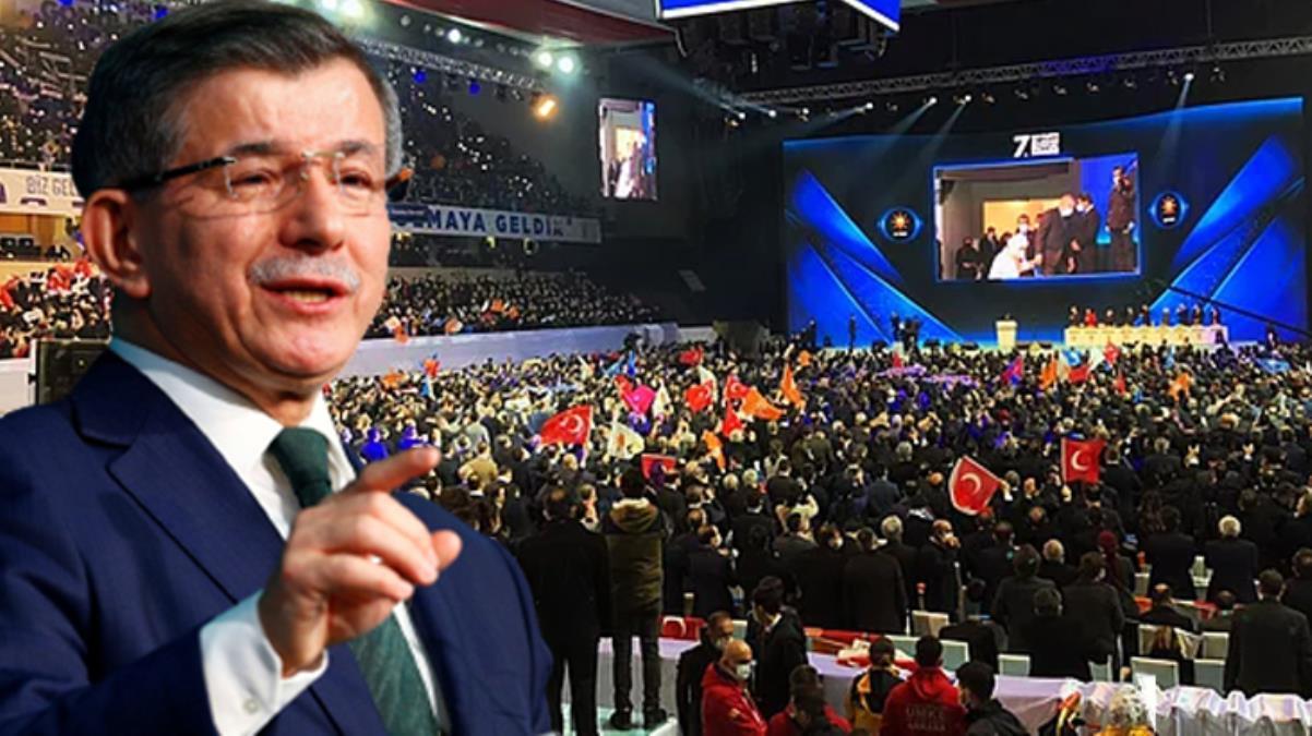 Davutoğlu'ndan AK Parti kongresindeki kalabalığa tepki: Milletimize kesilen bütün cezalar geri ödenmeli