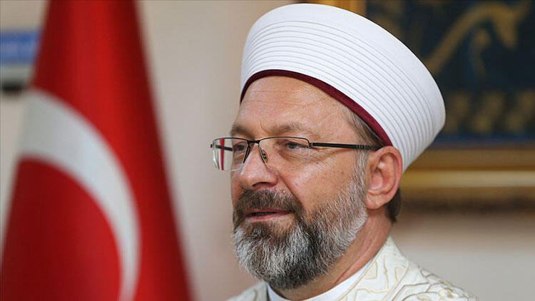 Diyanet İşleri Başkanı Ali Erbaş'tan Mevlid-i Nebi Haftası açıklaması