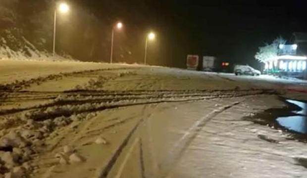 Doğu Karadeniz'de kar etkili oluyor