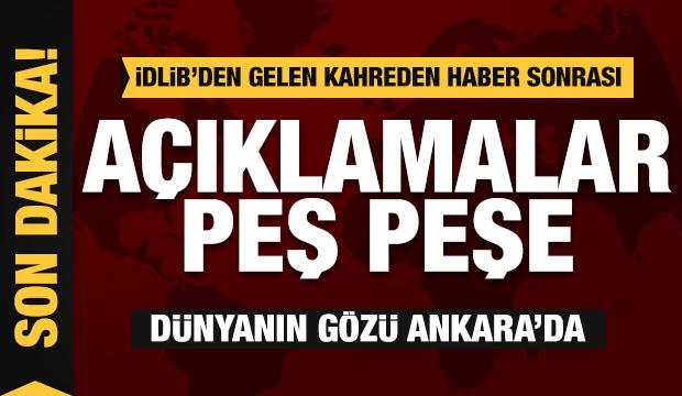 Dünyanın gözü Ankara'da! Şehit haberleri sonrası son dakika açıklamaları