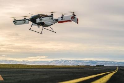 Dünyanın İlk Uçan Arabası Havalandı