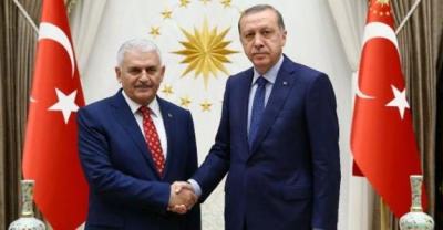 Erdoğan: Binali Yıldırm'ın İstifa Etmesine Gerek Yok