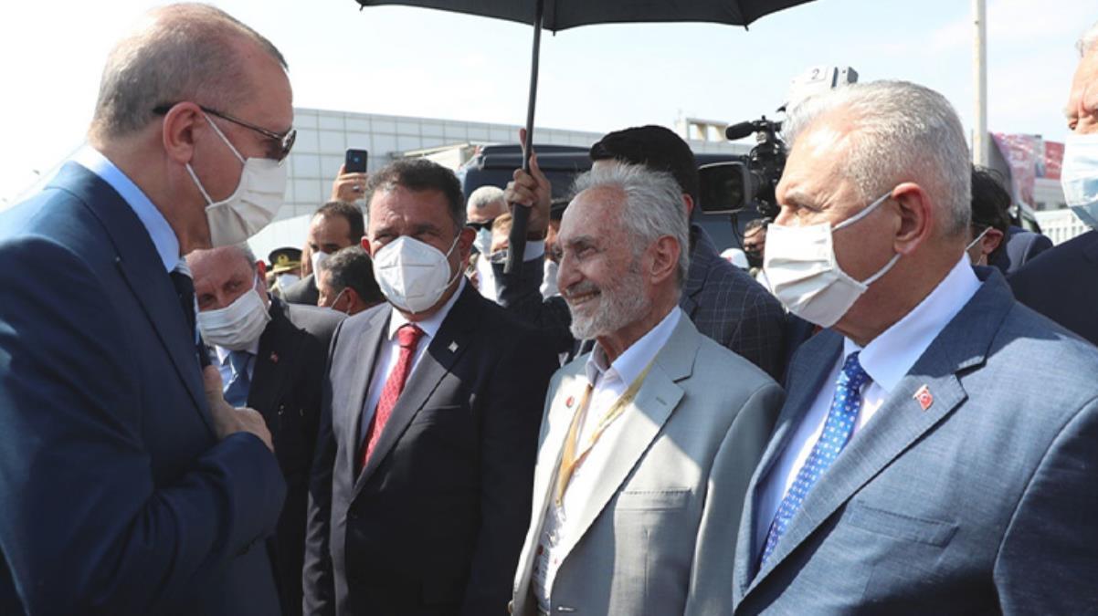 Erdoğan'dan Kıbrıs gezisinde kendisine eşlik eden Oğuzhan Asiltürk sorusuna yanıt: Derdimiz birlikteliği sağlamak