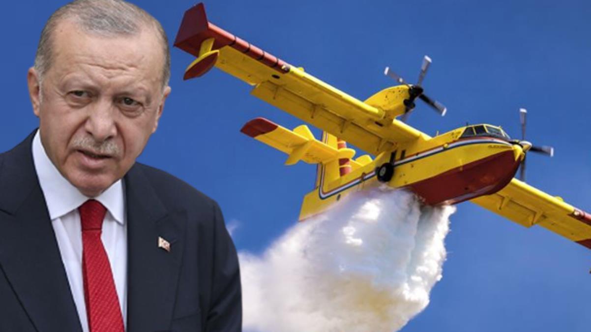 Erdoğan talimatı verdi, THK ile ilgili kapsamlı rapor hazırlandı: 21 yangın söndürme uçağından 15'i gayri faal durumda