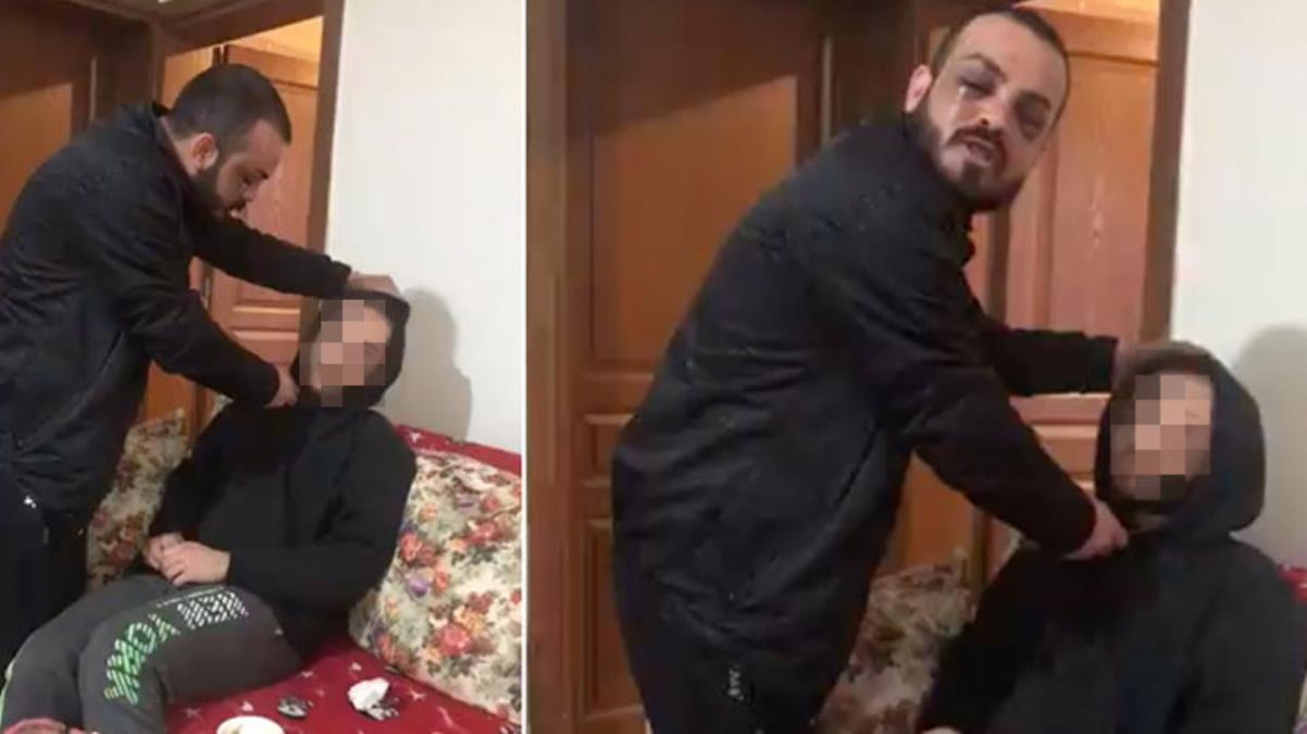 Eski sevgilisinin arkadaşının boğazına bıçak dayayarak görüntü çeken zanlı tutuklandı