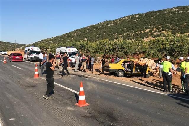 Gaziantep'te korkunç kaza! 11 yaralı