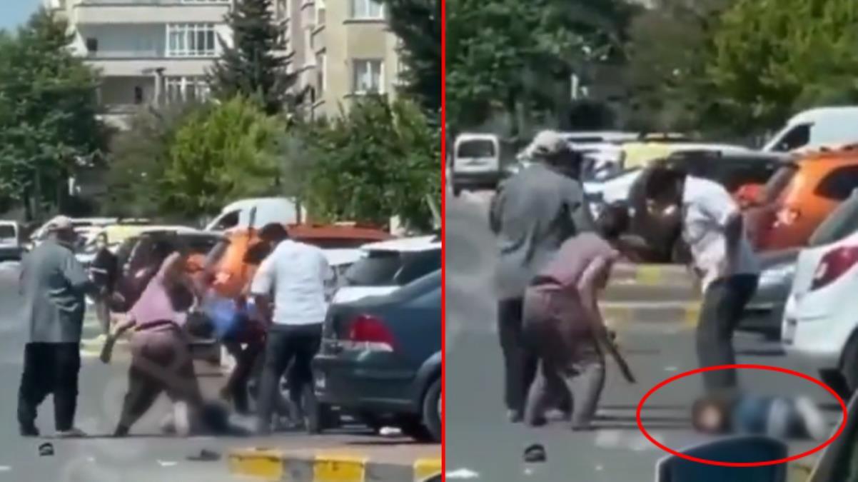 Gaziantep'te sokak ortasında vahşet! 5 kişi aralarına aldıkları adamı bıçak ve sopalarla linç etti