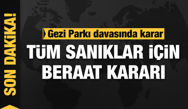 Gezi Parkı davasında karar! Osman Kavala tahliye edildi