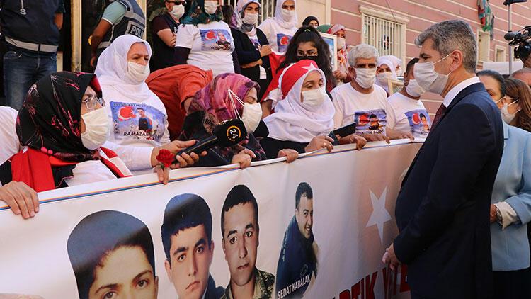 İçişleri Bakan Yardımcısı Muhterem İnce'den Diyarbakır annelerine ziyaret