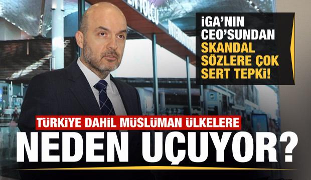 İGA üst yöneticisi Samsunlu'dan Ryanair üst yöneticisine tepki