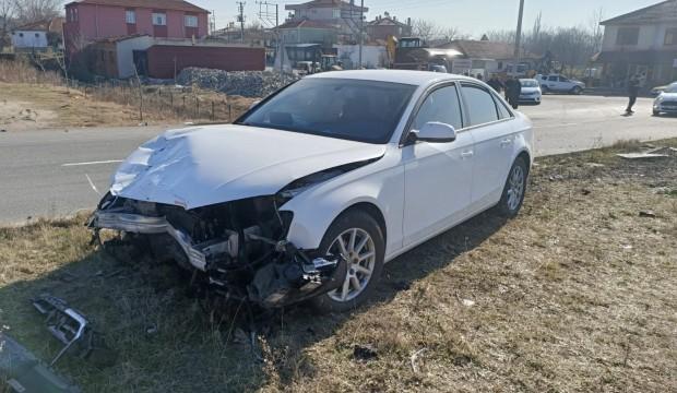 İlçe milli eğitim müdürü trafik kazası geçirdi