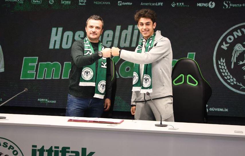 İsmail Kartal'ın oğlu Konyaspor'a transfer oldu! Babasının izinden...