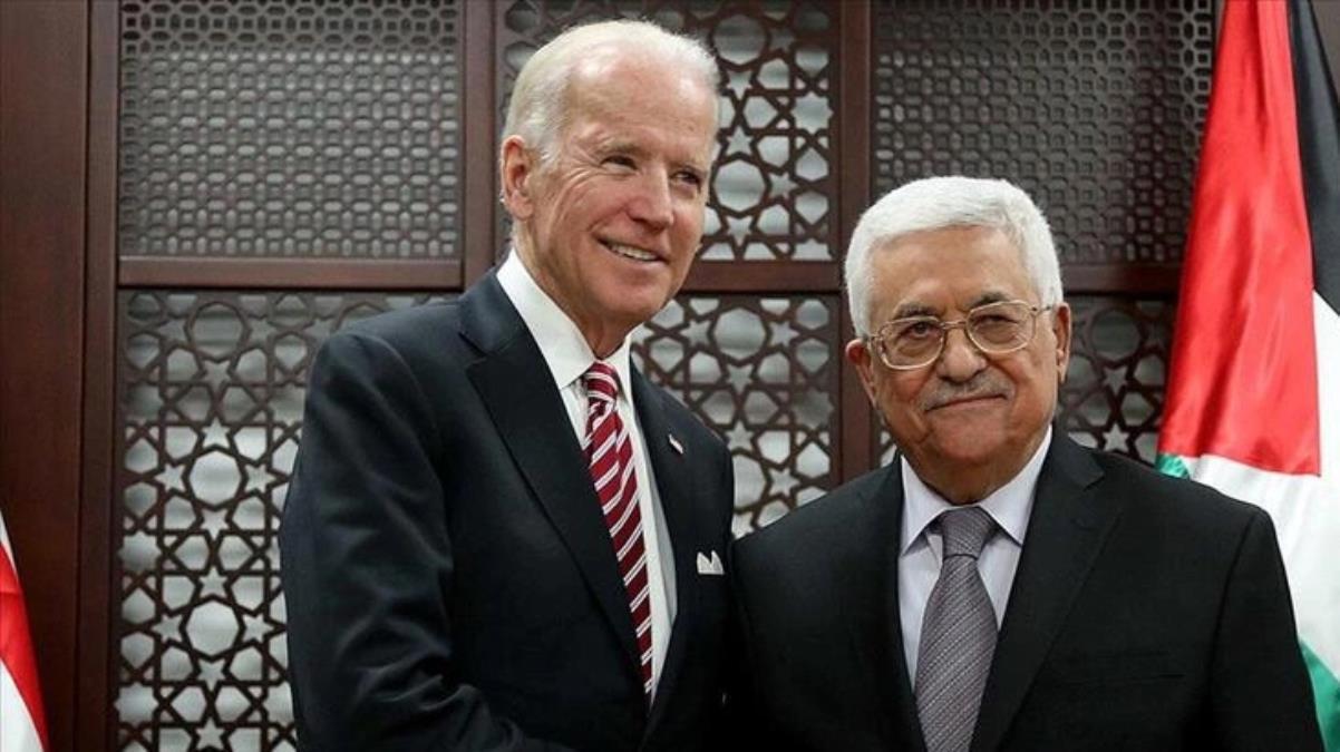 İsrail saldırılarının gölgesinde ABD Başkanı Biden ile Filistin Devlet Başkanı Abbas arasında ilk temas