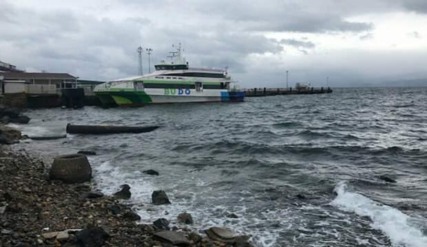 İstanbul'da deniz seferleri iptal