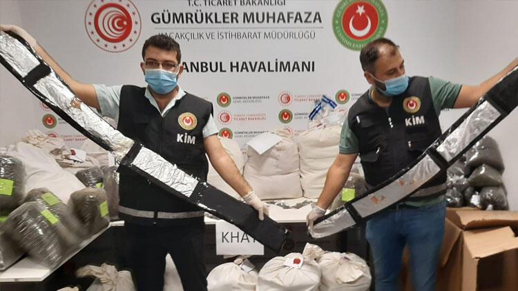 İstanbul Havalimanı'nda operasyon, 420 kilogram uyuşturucu yakalandı