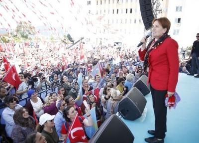İyi parti lideri Meral Akşener, Rize mitingi öncesi gerginlik!