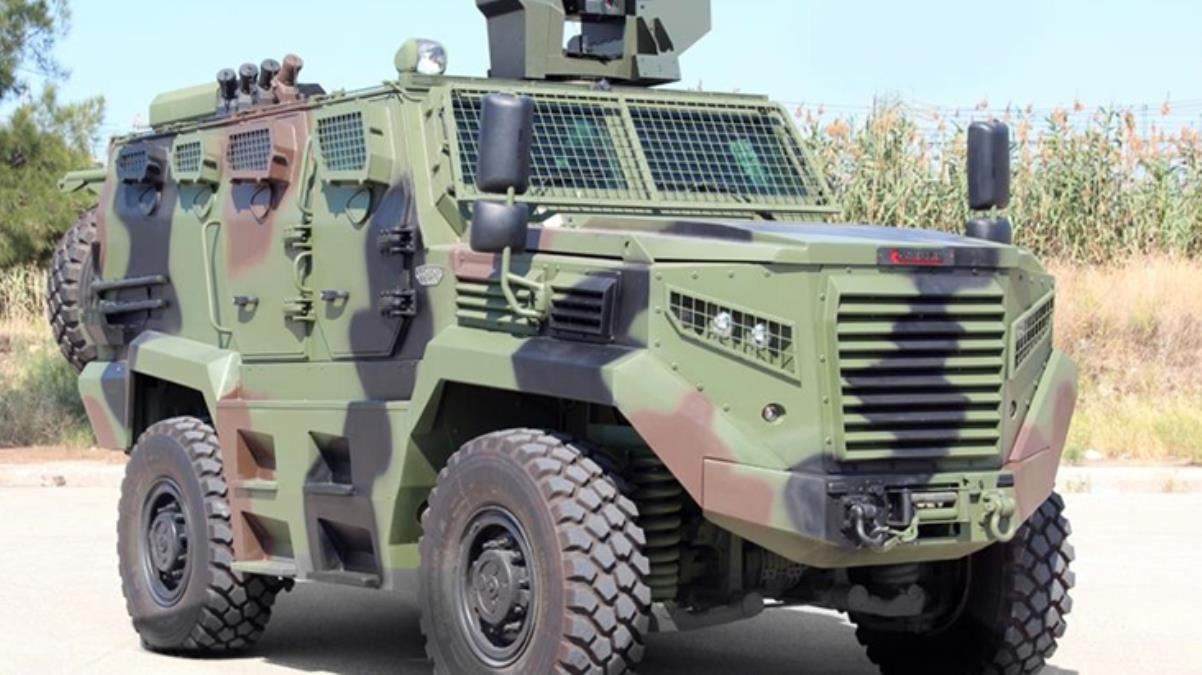 Kenya'nın açtığı 118 zırhlı araç alım ihalesini Türk şirketi Katmerciler kazandı! Teslimat 2 yıl içinde tamamlanacak