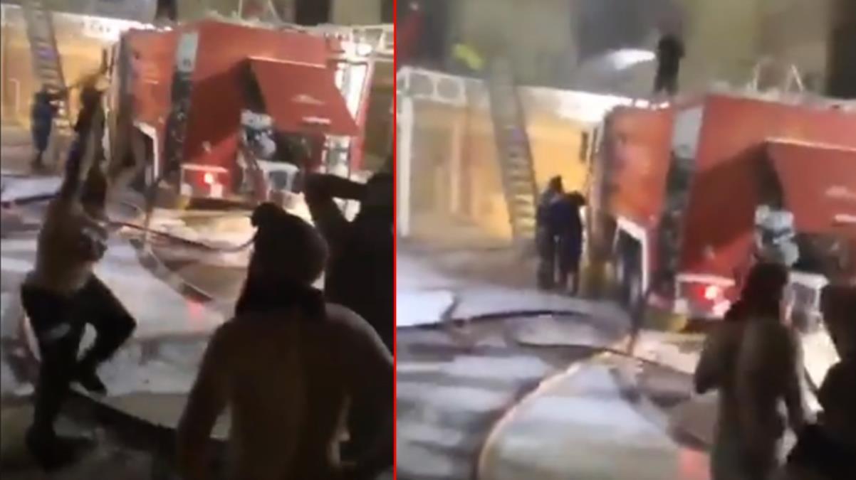 Komşuda kabus! Koronavirüs hastalarının tedavi gördüğü hastanede çıkan yangında 40 kişi öldü