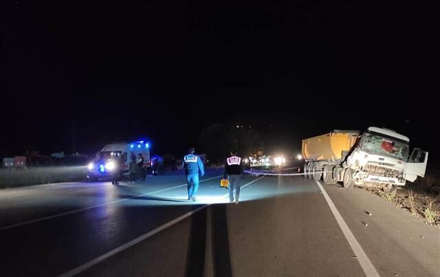 Konya'da korkunç kaza! 1 ölü, 2 yaralı