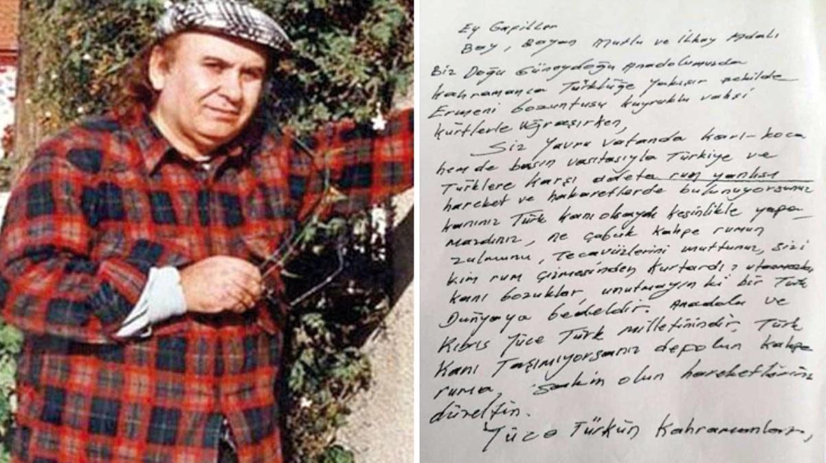 Kutlu Adalı cinayetinde yeni gelişme! Kendisine gönderilen tehdit mektubu ortaya çıktı