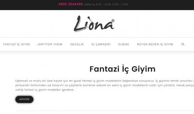 Liona Fantazi İç Giyim Modelleri