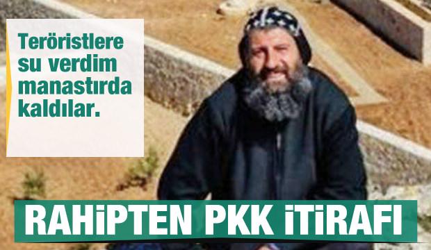Mardin'deki Rahip Sefer Bileçen PKK'ya yardımı inkar etmedi