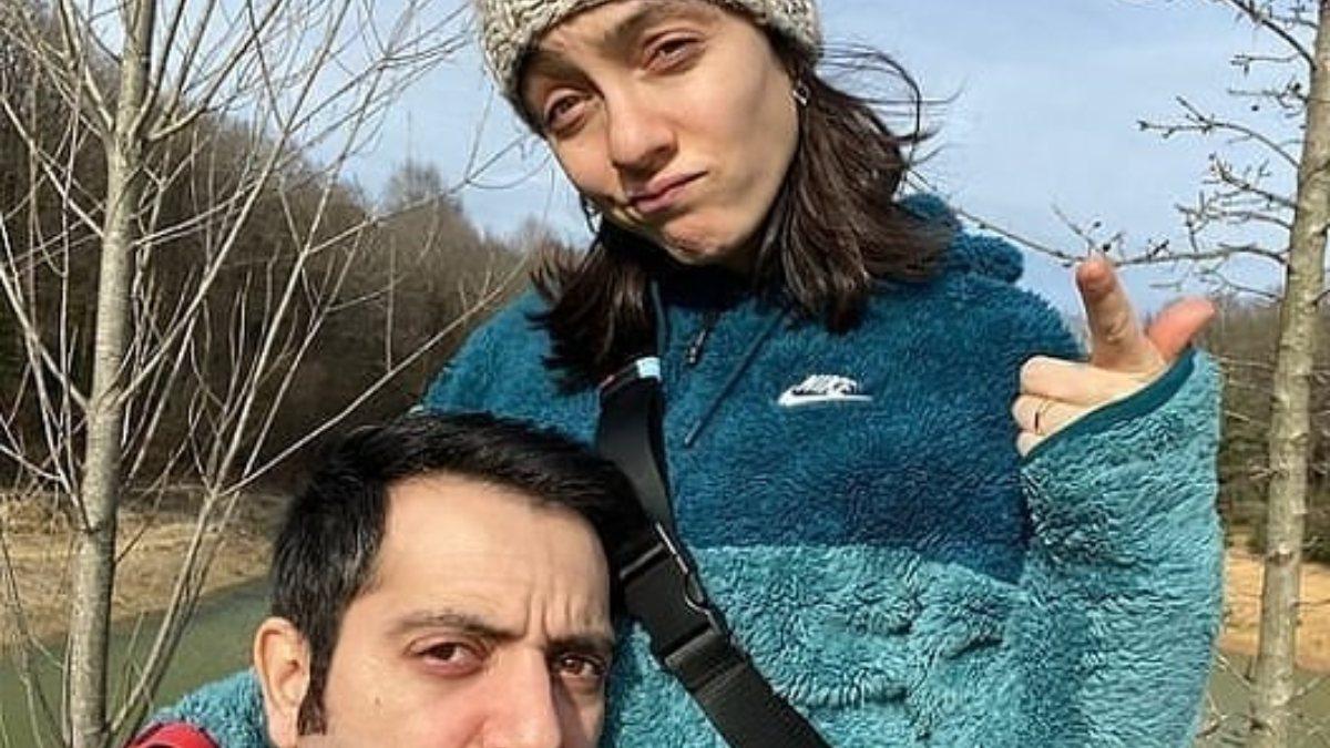 Merve Dizdar-Gürhan Altundaşar'dan aşk pozu
