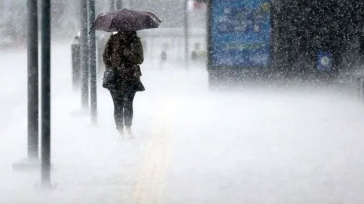Meteoroloji bölge bölge uyardı! Yağışlar 4 gün boyunca etkili olacak