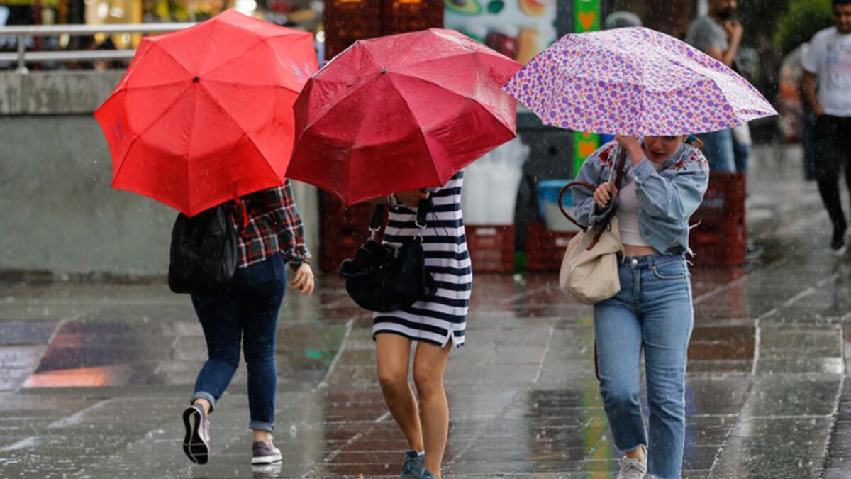 Meteoroloji'den 5 ile kuvvetli yağış uyarısı