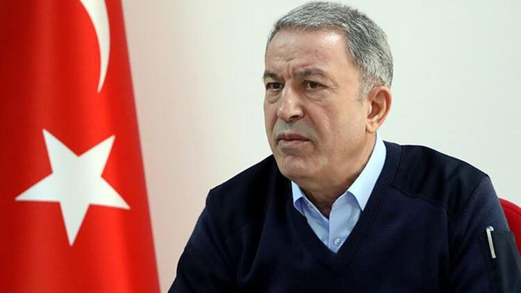 Milli Savunma Bakanı Akar, Arnavutluk Savunma Bakanı ile telefonda görüştü