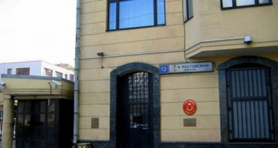 Moskova Büyükelçiliği'ne içerisinde beyaz toz bulunan bir zarf gönderildi