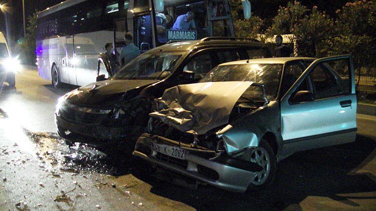 Muğla'da zincirleme kaza! 5 yaralı